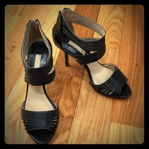 "Michael Kors Black Strappy 4"" Heel"